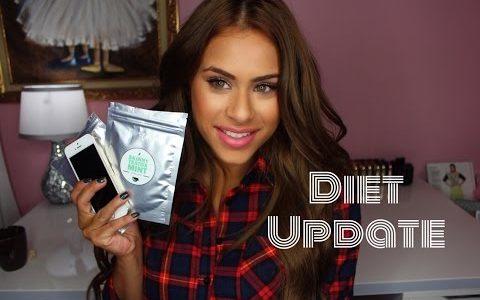 My Diet Update- Skinny Tea, Noom App + Meal Plan